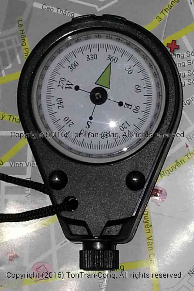 Sighting Compass Imitation