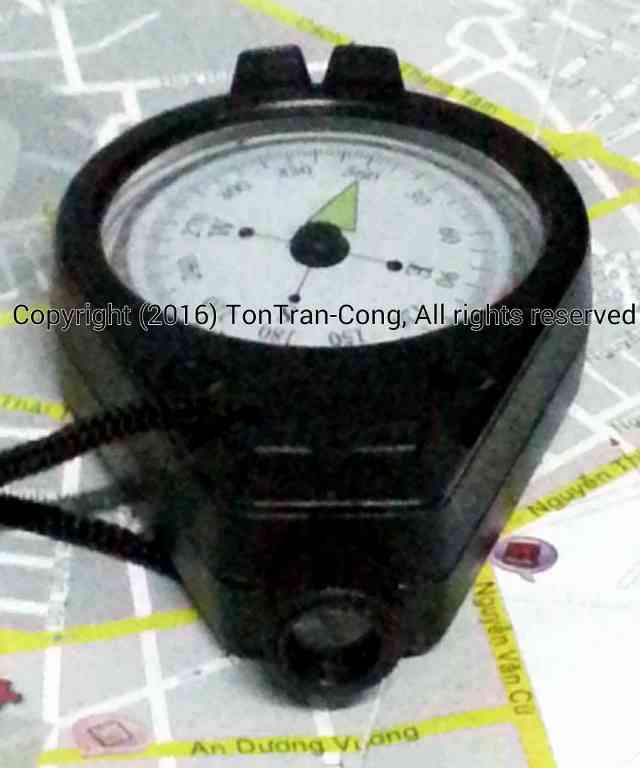 Sighting Compass Imitation 2