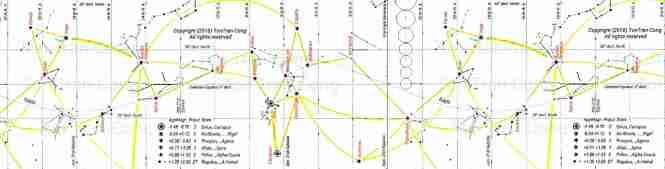 star map mercatorx1p6