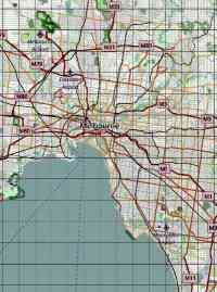 Map w Coordinates