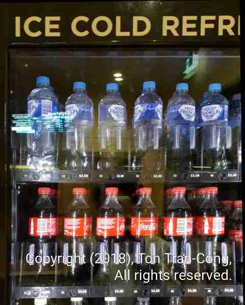 Bottled Water In Refrigerator